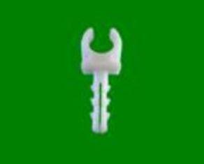 клипса монтажная предназначена для крепления металлопластиковых труб Ф16