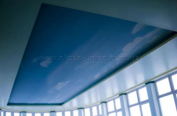 Клипсо Юнион - натяжные потолки, стены CLIPSO практичные, экологичные, влагостойкие, для бассейнов