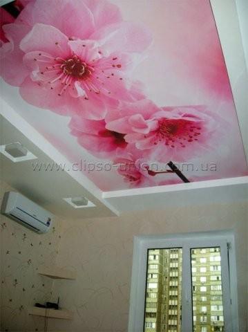 Натяжные потолки, стены CLIPSO. Цветные, с рисунком, с блеском, для влажных помещений, с подсветкой
