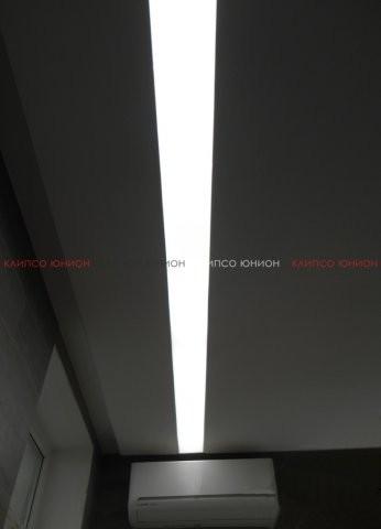 Клипсо Юнион натяжные светопрозрачные потолки с внутренней подсветкой - дизайнерская практичная и функциональная идея
