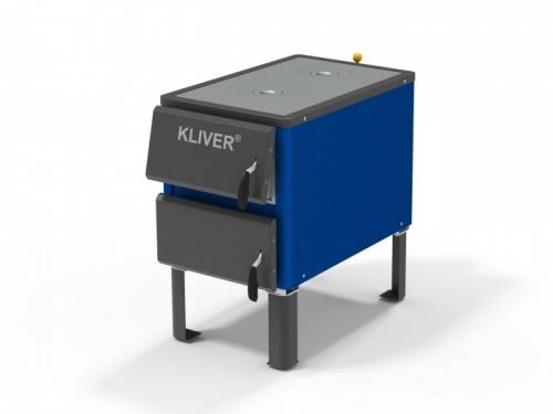 KLIVER 17 П котел с плитой. Доставка по Украине. Оплата после получения товара. Цена от производителя.