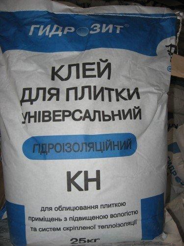 Фото  1 Клей гидроизоляционный морозостойкий ГИДРОЗИТ тип КН, 25 кг 230142