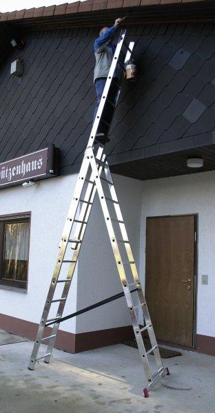 Фото  1 Лестницы, приставные, двухсекционные, трехсекционные, шарнирные новые 927564