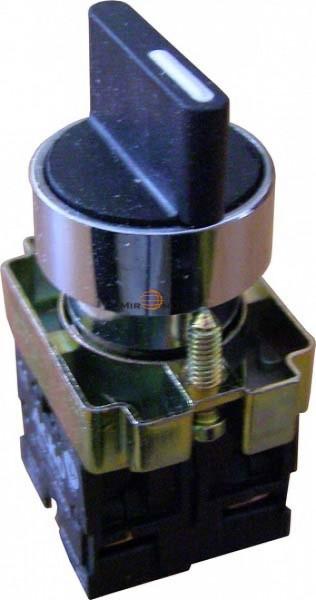 Кнопка поворотная 3-х поз. с самовозв Стан. руч. XB2-BD53
