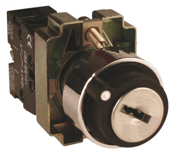Кнопка поворотная с ключом 2-х поз. XB2-BG21