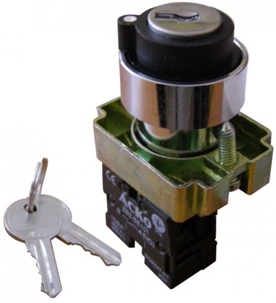 Кнопка поворотная с ключом 2-х поз. XB2-BG41