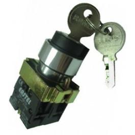 Кнопка поворотная с ключом 3-х поз. XB2-BG03
