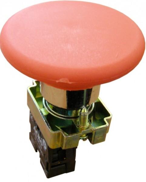 """Кнопка """"грибок"""" (d 60 мм) XB2-BR42""""Стоп&q uot; красная"""
