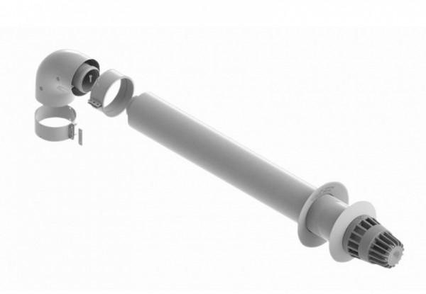 Коаксиальный комплект Saunier Duval (труба (L=0,75 м) 60/100мм колено 60/100)