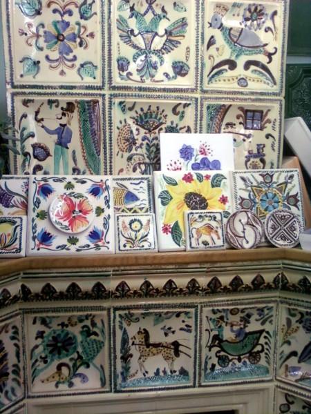 кольори кахлів для облицювання камінів, печей, кухонь. (можливий розпис за ескізами клієнта) (4)