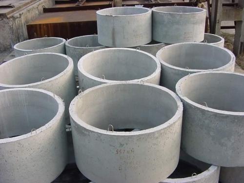 Кольца бетонные для колодцев диаметр 1м КЦ-10