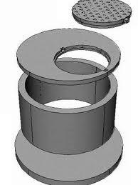 Кольца бетонные, для колодцев и септиков, монтаж :0.8м, 1м, 1.5м, 2 м