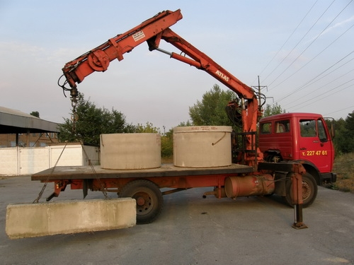Кольца бетонные для наружной канализации 1м