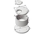 Кольца для колодцев бетонные и другие жб элементы колодцев