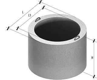 Кольцо для колодца КС 20.9 разм.2200х2000х890мм