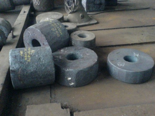 Кольцо ков 350х130 (85мм) сталь 40Х