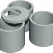 Кольцо ж/б КС15.9(кольцо в диаметре 1500мм, высотой 890мм) для канализационных колодцев.