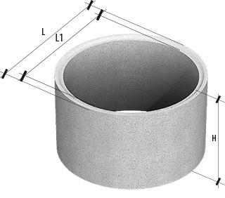 Кольцо ж/б КСЕ 10-6 разм. 1160х1000х600мм