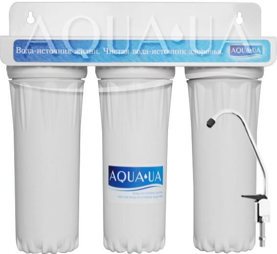 Колбовый проточный фильтр AUGL-10-3