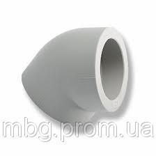 Колено PPR 45 75мм