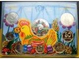Фото  1 Коллекционный Набор обиходных монет НБУ 2014 1879008