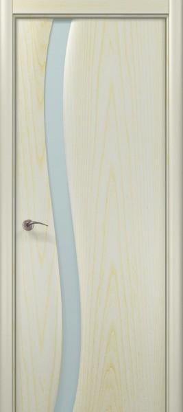 Коллекция Modern. Полотно Trento-R, шпон ясень патина белая.