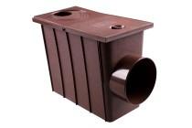 Колодец с боковым сливом, водосток Профил, ПВХ, система 130/100мм