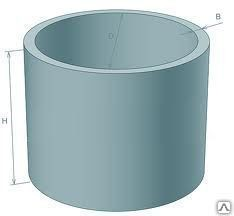 Колодезные кольца КС 10-6