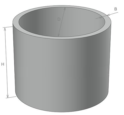 Колодезные кольца КС 10-9 Доставка, монтаж.