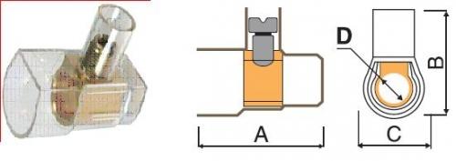 Колодка соединит. винтовая для соединение проводов в бытов. помещениях. Быстр. монтаж, изоляция, легкий доступ