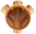 колодци ревизионные, дренажные. ф315/ф400, сборные или проходные, высота регулируется