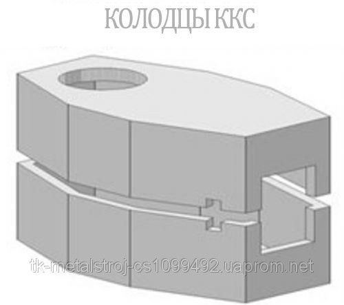 Колодцы связи KKC-2-2 разрезные