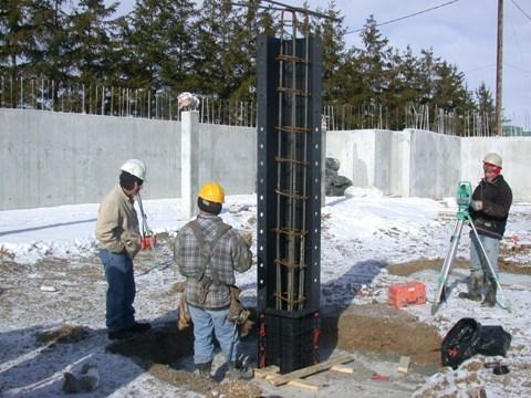 Колонны прямоугольного сечения Geotube 200*200, h-3m