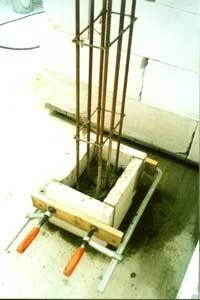 Колонны (установка опалубки армирование заливка) м. п. от 300грн