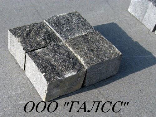 Колотая Гранитная брусчатка - 200х100х100 , 200х100х50 , 100х100х100 , 100х100х50 , 70х70х70 , 50х50х50