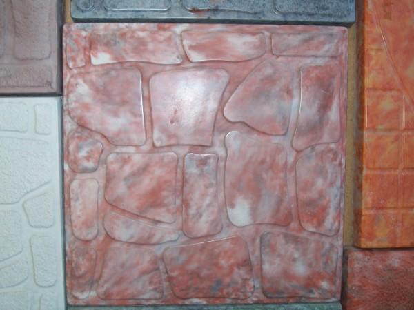 Колотый камень размер 30,0*30,0 8 шт. на 1 кв. м толщина 3,0 см цвета:желтый, черный, красный, коричневый и мрамор