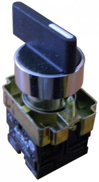 Командоаппараты . Кнопка поворотная 3-х поз. Удл. ручка XB2-BJ33