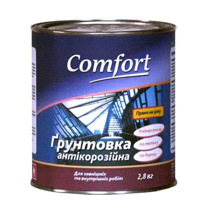 Комфорт ГФ 021 грунтовка антикоррозийная 2.8 кг