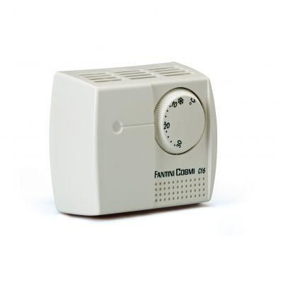 Комнатный термостат FANTINI COSMI C16 применяется для систем отопления и кондиционирования