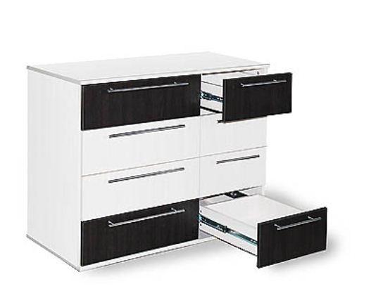 Комод black and white Размеры: 1000 (L) х 460 х 840 (h)