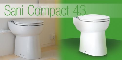 Компакт-измельчитель для принудительной канализации SANICOMPACT 43 (SFA) Франция