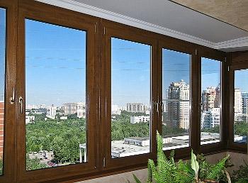 Компания Викнософт изготавливает цветные пластиковые окна