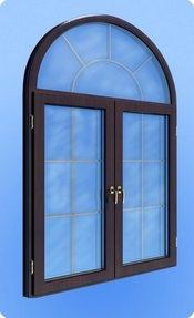 Компания Викнософт предлагает изготовление нестандартных окон: • арочные, круглые, овальные, эркерные, треугольные