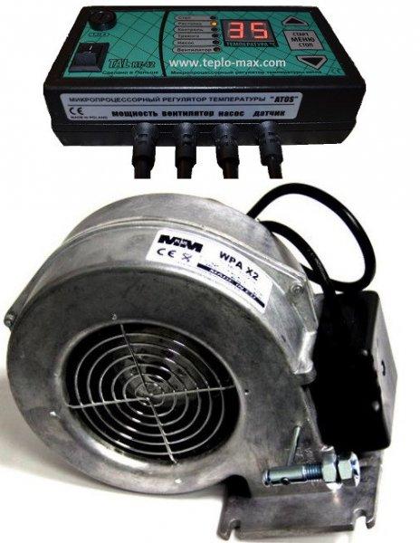 Фото  1 Комплект автоматики для котла TAL RT-22 c вентилятором WPA X2 1920457