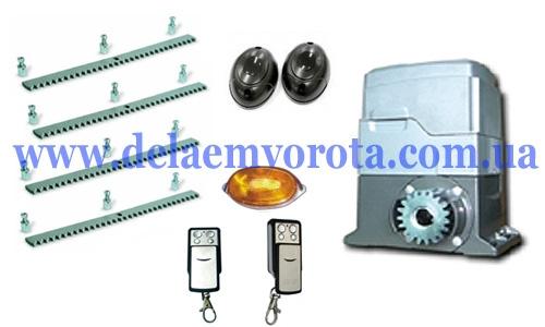 Комплект автоматики для откатных ворот до 1000 кг, PROFESSIONAL-GANT PS-IZ (КНР).