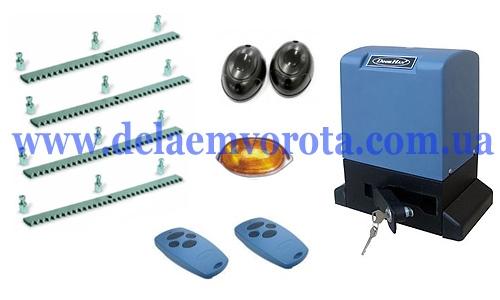Комплект автоматики для откатных ворот до 1300 кг, DOORHAN SLIDING-1300 (Россия).