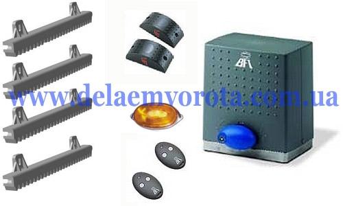 Комплект автоматики для откатных ворот до 500 кг, BFT DEIMOS-500 (Италия).