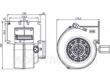 Фото  6 Комплект блок управления Polster C-66 и вентилятор DM-620 для твердотопливного котла (аналог ATOS) 6745534