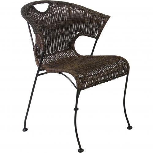 Комплект для балкона: столик и 2 стула. Искусственный ротанг.