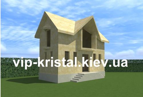 Комплект дома с фундаментом: